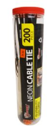 24 Units of Cable Ties 200 Piece - Cable wire