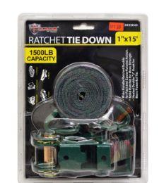 12 Units of Camo Ratchet Tie Down - Ratchets