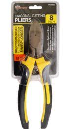 24 Units of Diagonal Cutting Pliers 8 Inch Heavy Duty - Pliers