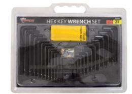 12 of Hex Key Set 25 Pieces