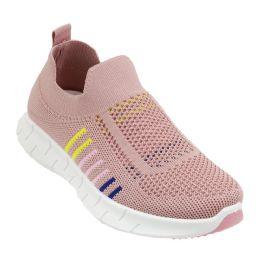 12 Units of Women's Fashion Sneakers In Pink - Women's Sneakers