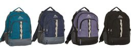 "12 Units of 18"" Premium Backpacks w/ Side Mesh Pockets - Backpacks 17"""