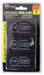 48 Wholesale Magnetic Key Holder 3 Piece