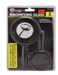 24 Wholesale Magnifying Glass 2 Piece