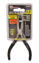 48 of Mini Bent Nose Pliers 4.5 Inch