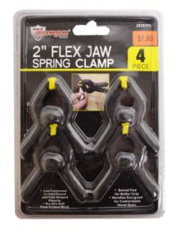 48 Units of Mini Nylon Spring Clamps 4 Piece 2 Inch - Clamps