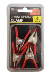 48 Units of Mini Spring Clamp Set 4 Piece 2 Inch - Clamps