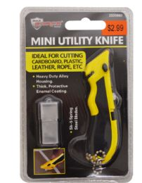 48 Units of Mini Utility Knife With Blades - Box Cutters and Blades