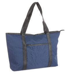 12 Units of Travel Tote Carry-On Bags - Navy - Travel & Luggage Items