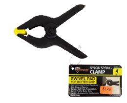 72 Units of Nylon Spring Clamp 4 Inch - Clamps