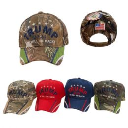 24 Wholesale Trump 2024 Hat He Will Be Back