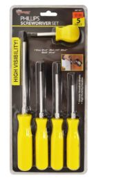 24 Units of Philipps Screwdriver 5 Piece - Screwdrivers and Sets