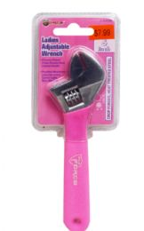 18 Units of Pink Adjustable Wrench - Wrenches