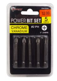 48 Units of Power Bit Set Number 2 Phillips 5 Piece - Screwdrivers and Sets