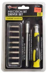 24 Units of Precision Bit Driver Set 16 Piece - Screwdrivers and Sets