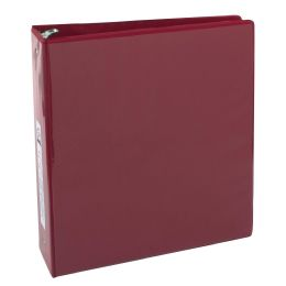 12 Wholesale 2 Inch Binder With Two Pockets - Red