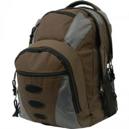 """10 Units of 16.5 Polyester Backpack - Backpacks 16"""""""