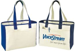"""48 Units of 16"""" Canvas Tote Bags - Tote Bags & Slings"""