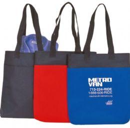 """48 Units of 14"""" Tote Bags - Tote Bags & Slings"""
