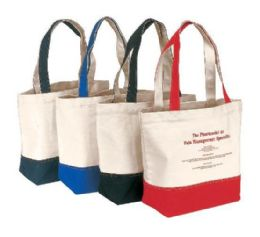 """36 Units of 18"""" Canvas Tote Bags - Tote Bags & Slings"""