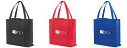 72 Units of Non Woven Foldable Tote Bags - Tote Bags & Slings