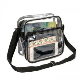30 Units of Clear PVC Stadium Approved Small Shoulder Bag - Shoulder Bags & Messenger Bags