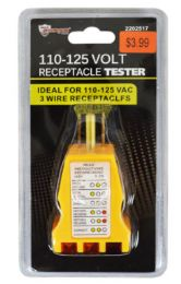 36 Units of Receptacle Tester 110- 125V - Tool Sets
