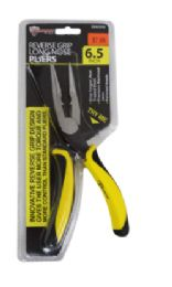 24 of Reverse Grip Long Nose Pliers 6.5 Inch