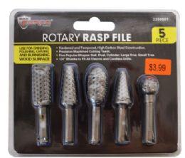 36 Units of Rotary Rasp File 5 Piece - Tool Sets