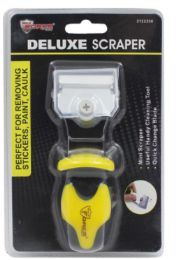 24 Units of Scraper With Rubber Grip Handle - Tool Sets
