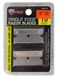 60 Units of Single Edge Razor Blades 10 Piece - Box Cutters and Blades