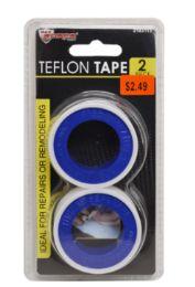 48 Units of Teflon Tape 2 Pack - Tape & Tape Dispensers
