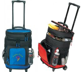 """13"""" Deluxe Ripstop Rolling Coolers - Bags Of All Types"""