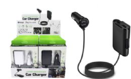 12 of 4 Port USB Car Charger