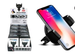 12 of Wireless Charging Car Air Vent Phone Holder