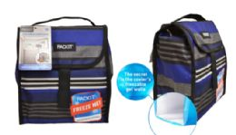 12 Units of Pack It Freezable Lunch Bag - Lunch Bags & Accessories