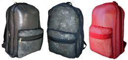 """40 Units of 18"""" Clear Backpacks - Backpacks"""