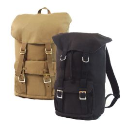 6 Units of Voyager Canvas Backpacks - Backpacks