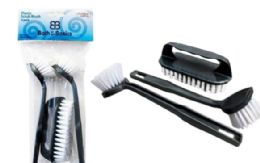 48 Units of Brush Set 3 Piece - Cleaning Products