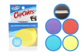 72 Units of Hostess Baking Cups 30 Count On Slip Strip - Baking Supplies