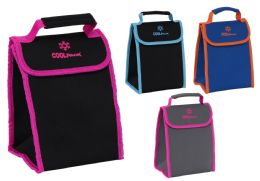 24 Units of Insulated Neoprene Velcro Lunch Bags - Lunch Bags & Accessories