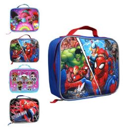 24 Units of Kids Wholesale Lunch Bag - Lunch Bags & Accessories