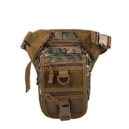 12 Units of Gun Holster Waist Bag in Camouflage - Fanny Pack