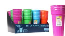 48 Units of Plastic Tumblers - Plastic Drinkware
