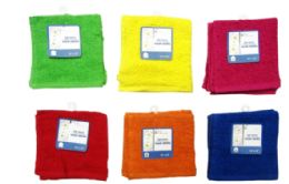 72 Units of Wash Cloths 2 Pack - Towels