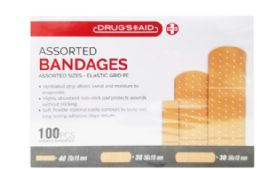 96 Units of Bandages 100 Count - Bandages and Support Wraps