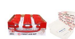 60 Bulk 42 Piece First Aid Kit