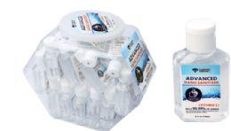 48 Units of Hand Sanitizer On Carabiner - Hand Sanitizer
