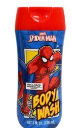 24 Bulk Spiderman Body Wash 8 Ounce