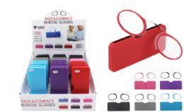 30 of Nose Resting Reading Glasses With Hard Shell Case